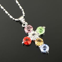Belle couleur collier de diamants