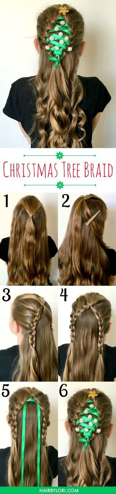 Whether you are head off to a school or work holiday party, an ugly sweater party or a family event - THIS will be the hairstyle that everyone is talking about! | http://OHMY-CREATIVE.COM