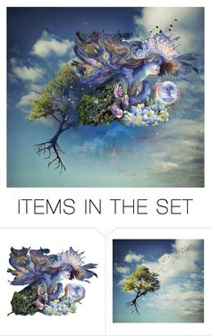 """Fantasy"" by lubime ❤ liked on Polyvore featuring art"