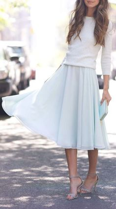 Beautiful flowing skirt