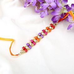 Vibrant Beads Rakhi - Buy Fresh Vibrant Beads Rakhi Online at Lowest Price   Giftalove.com