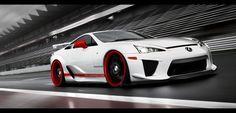 Lexus LFA by ~Danyutz dA - I first saw this car on Top Gear. It's beautiful!