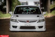 USDM Type R front, Mugen RR hood painted - J. Bull