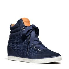 The Danae Sneaker from Coach works well with my jeans and any color top!