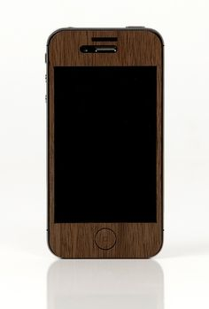 iPhone 4/4s Walnut Case