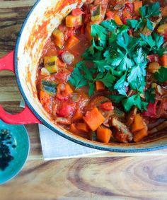 """Simple 30 minute vegetable stew - simple, straight forward but not bland, nice """"n"""" tasty ! - Opti Cook"""