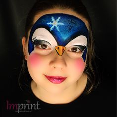 Penguin Face Painting  By Zoe Billows  IMPRINT FACE PAINTING