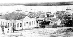 Porto Alegre antigamente: Sociedade Bailante - 1880