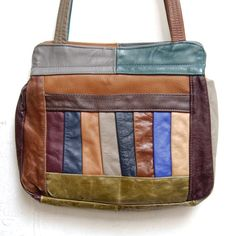 I think my mom had a purse like this. And I had a fanny pack with a similar pattern.