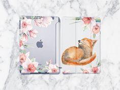 Apple iPad Case Cute Fox iPad 7 gen Case iPad Pro Case iPad Smart Cover iPad Pro Floral Case iPad generation iPad by StarCaseUA on Etsy Plastic Design, Ipad Air Case, Cute Fox, Good Notes, Apple Ipad, Ipad Pro, Plastic Case, Ipad Mini, Iphone Cases