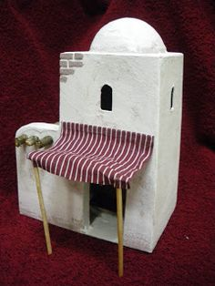 Dollhouse Miniature Tutorials, Miniature Houses, Dollhouse Miniatures, Christmas Crib Ideas, Christmas Crafts, Christmas Decorations, Idea Portal, Home Crafts, Diy And Crafts