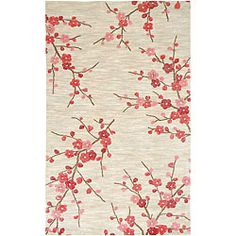 @Overstock - Inspired by bold ethnic textiles and rich hues, this rug encourages individual expression with a modern flare. This rug will really tie your room together.   http://www.overstock.com/Home-Garden/Hand-tufted-Sand-Red-Rug-5-x-76/6782920/product.html?CID=214117 $183.59
