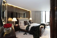 Master Bedroom in One Hyde Park