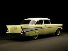 1957 Chevrolet Bel Air 2-door Sedan