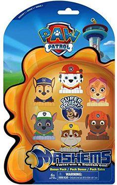Paw Patrol Mashems Fash'ems Series 1 Value Pack Toy Figure Set of 6