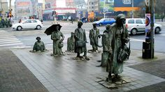The Monument Of An Anonymous Passerby - Wroclaw (Poland)