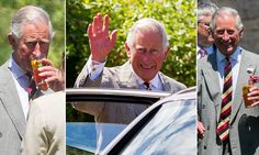 Prince Charles joins Somerset villagers for a Pimms