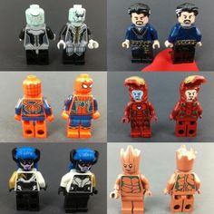 Lego Decals, Iron Man Cartoon, Lego Iron Man, Lego Custom Minifigures, Lego Pictures, Hama Beads Minecraft, All Lego, Team Avatar, Lego Projects