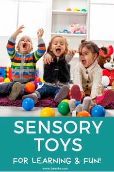 Sensory toys are incredible learning and development tools for all kids! They particularly help children with SPDs organize input coming from their environment. Check out the top sensory balls and sensory toys for toddlers. Sensory Toys, Sensory Activities, Craft Activities For Kids, Games For Kids, Kids Crafts, Toddler Toys, Baby Toys, Kids Toys, Best Baby Shower Gifts