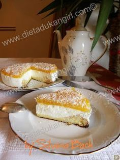 Dukangirl 2010 AVENTURA DUKAN Dietadukangirl: TARTA CREMOSA (DESDE ATAQUE) Healthy Dessert Options, Healthy Desserts, Dessert Recipes, Dukan Diet Recipes, My Recipes, Favorite Recipes, Recipies, Food N, Food And Drink