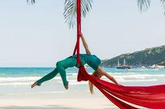 Flying Yoga – abheben und entspannen!