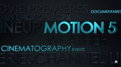 New #FCPX & #Motion5 Template! Energetic Lineup - www.motionvfx.com/N2177 #FinalCutProX #VideoEditing #Apple #Design