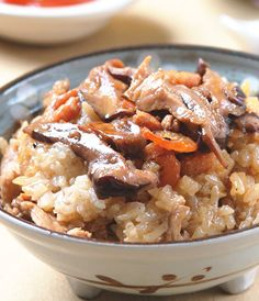 香菇油飯::食譜 No Cook Meals, Risotto, Lunch Box, Rice, Cooking, Ethnic Recipes, Food, Baking Center, Kochen