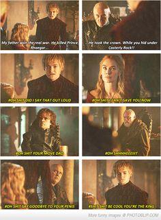Joffrey Baratheon can die any day now!