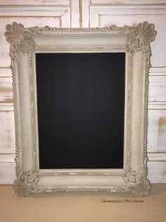 Vintage Frame Chalkboard Distressed Vintage by SerendipityRtStudio