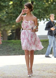 I never ever EVER know what to wear to weddings, but on a breezy spring day, this would be beautiful :)