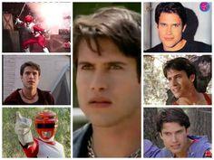 Leo Corbett The Galaxy Red Ranger Power Rangers Lost Galaxy, Saban's Power Rangers, Preston, Martial Arts, Saga, Collages, Beast, Ships, Fandom