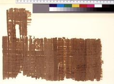 Receipt from the University of Michigan Papyrology Collection (usa)The papyrus is a fragmentary roll with only its upper margins still intact. A kollesis occurs at 16.5 cm. from the left edge, and the right end of the first sheet extends 1.5 cm. over the left edge of the succeeding sheet. Origin:Philadelphia, Herakleidou meris, Arsinoite nome, province of Egypt, 66/71 A.D. Free using image and comment.