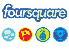 foursquare, the 1st gamification-based service