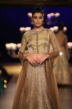 Manish Malhotra#gold#lehenga