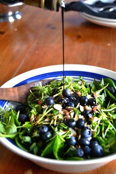 Blueberry Basil Salad