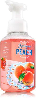 *Georgia Peach Gentle Foaming Hand Soap - Soap/Sanitizer - Bath & Body Works