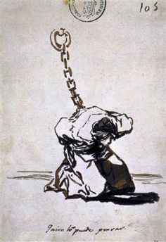 Who Can Think of It? - Francisco Goya