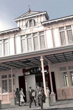 ノスタルジックな風景 by +α Mansions, House Styles, Home Decor, Decoration Home, Room Decor, Villas, Interior Design, Home Interiors, Palaces