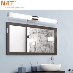 Merveilleux Find More Wall Lamps Information About ECOBRT 16w 80cm Long Acrylic LED  Linear Bathroom Mirror Lighting