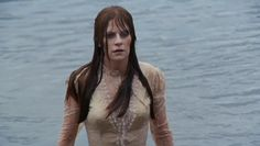 Let's Scare Jessica to Death (1971) - Emily (Mariclare Costello) rises from the lagoon.