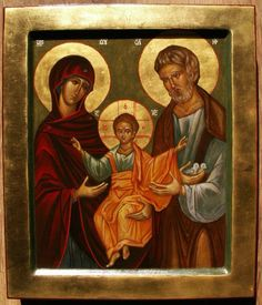 Holy Family Religious Icons, Religious Art, Byzantine Art, Holy Family, Freemason, Orthodox Icons, St Joseph, Jesus Christ, Christianity