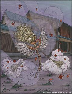 Hahaki-Gami (Japanese) http://yokai.com/hahakigami/