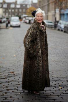 ADVANCED STYLE peopl, age, street styles, fashion icon, women, leopard prints, advanc style, coat