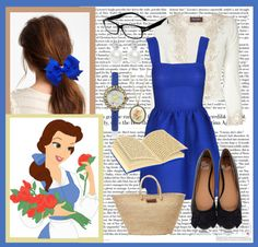 """""""Modern Day Belle"""" by bookworm-jaymie ❤ liked on Polyvore"""