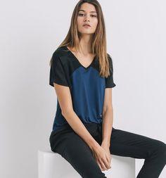 T-shirt+graphique+Femme