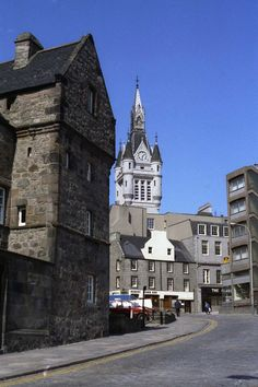 Aberdeen Scotland, City By The Sea, Silver City, Town House, North Sea, Lost, Mansions, House Styles, Grey