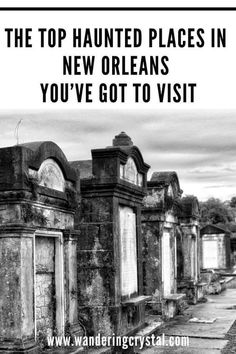 haunted places in New Orleans, things to do in New Orleans, Spooky things to do in New Orleans, ghost tours in the French Quarter, things to do in the french quarter New Orleans, French Quarter history, tours in New Orleans, cemeteries in New Orleans, Voodoo history in New Orleans, Marie Laveau's House of Voodoo, Voodoo Queen of New Orleans, things to do in NOLA, wanderingcrystal, haunted places to visit in New Orleans, vampires in New Orleans, St Louis Cemetery #NewOrleans #DarkTravel #USA New Orleans Vacation, New Orleans Hotels, New Orleans Travel, Us Travel Destinations, Places To Travel, Usa Travel, Travel Tips, Oh The Places You'll Go, Places To Visit