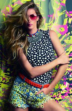 Gisele Bundchen for #Vogue Brazil's July 2012 Issue by #PatrickDemarchelier, #fashionpop