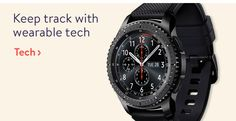 Keep track with wearable tech