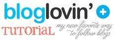 a Bloglovin' tutorial
